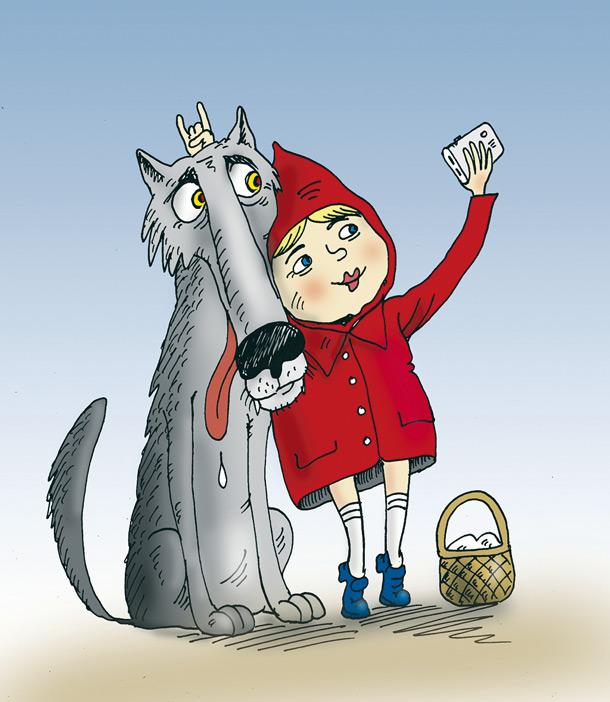 Годик малышу, красная шапочка смешная картинка